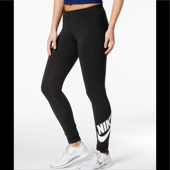 Nike Pants - NWT! Nike Sportswear logo High-Waist Leggings
